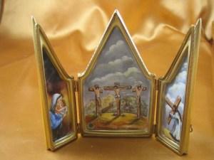 Triptych Crucifix